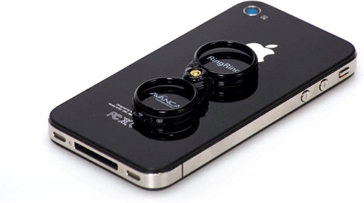 Avanca RingRing smartphone houder en standaard zwart kopen