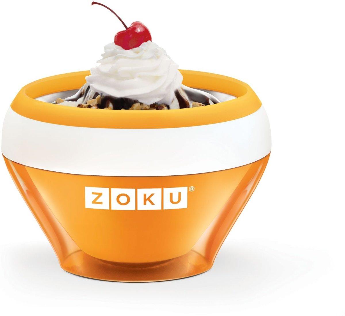 Zoku Ice Cream IJsmaker - Oranje kopen