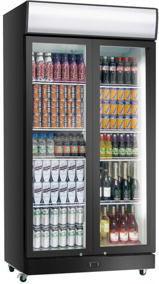 Gastro-Cool Display Koeler - 2 klapdeuren | 960 Liter | 120(b) x 69(d) x 200(h) cm kopen