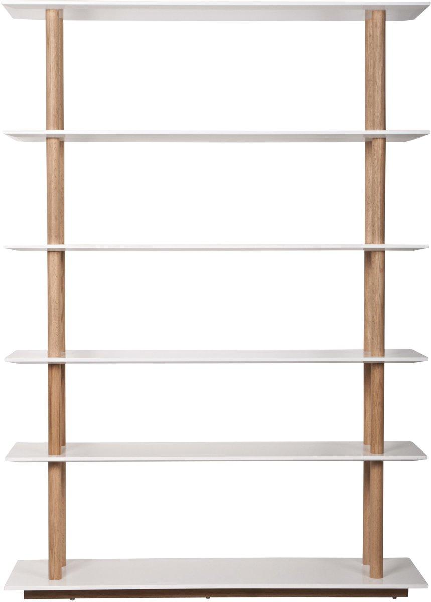 Zuiver High on Wood - Boekenkast - Wit - Hout kopen
