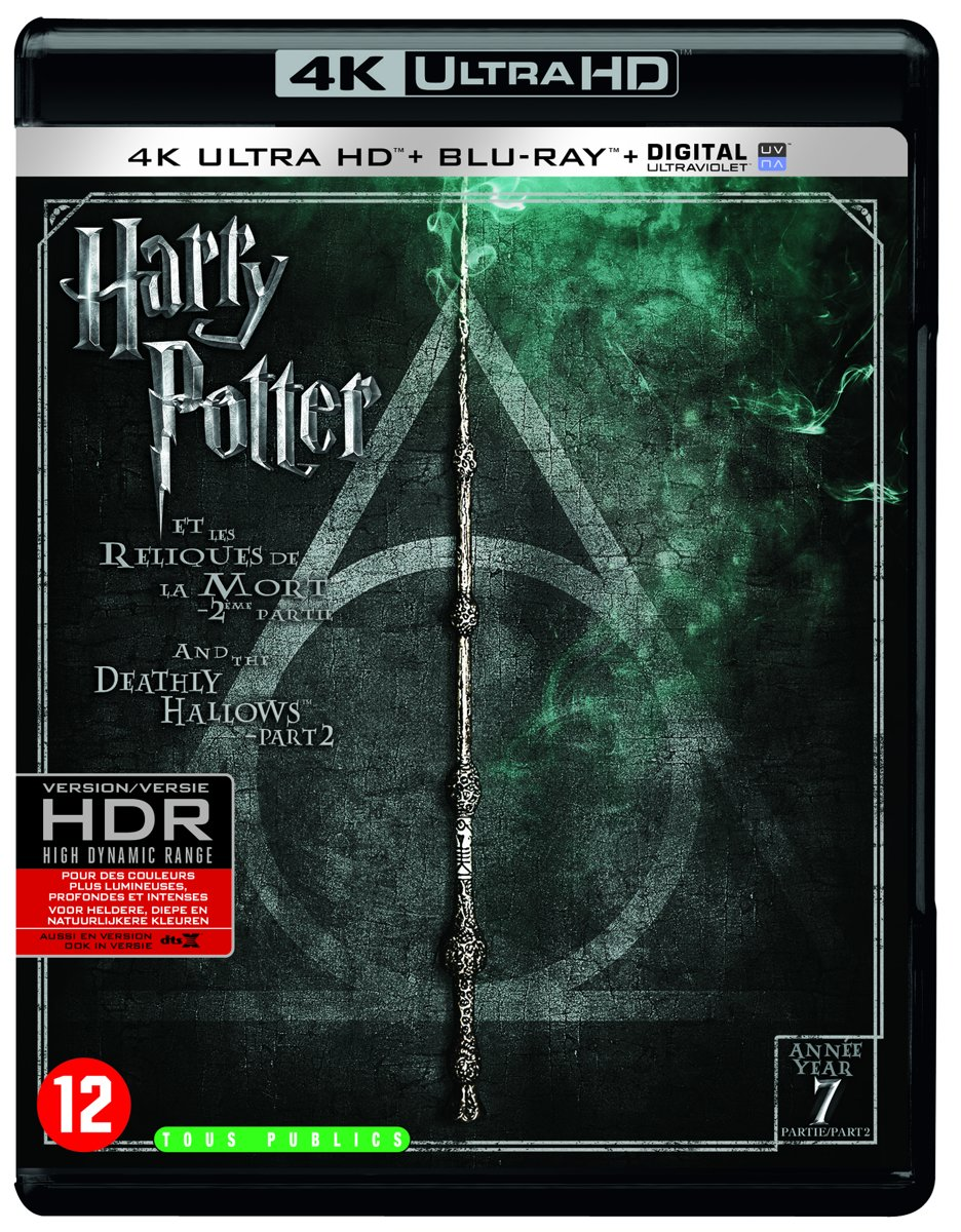 Harry Potter And The Deathly Hallows: Part 7.2 (4K Ultra HD Blu-ray)-