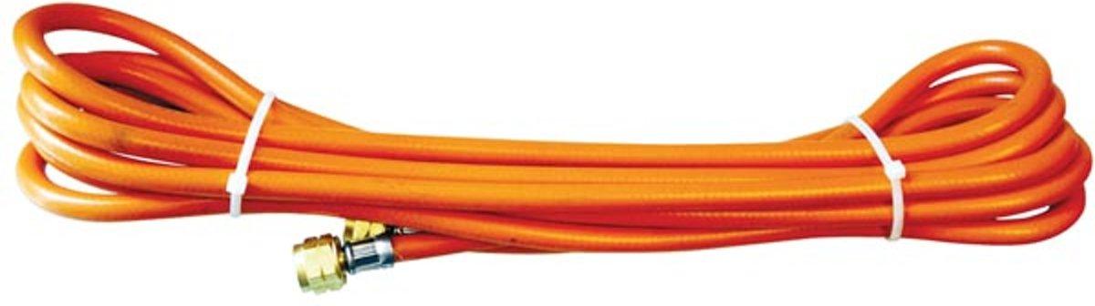 5 meter rubberen gasslang. Voorzien van aansluitkoppelingen. kopen
