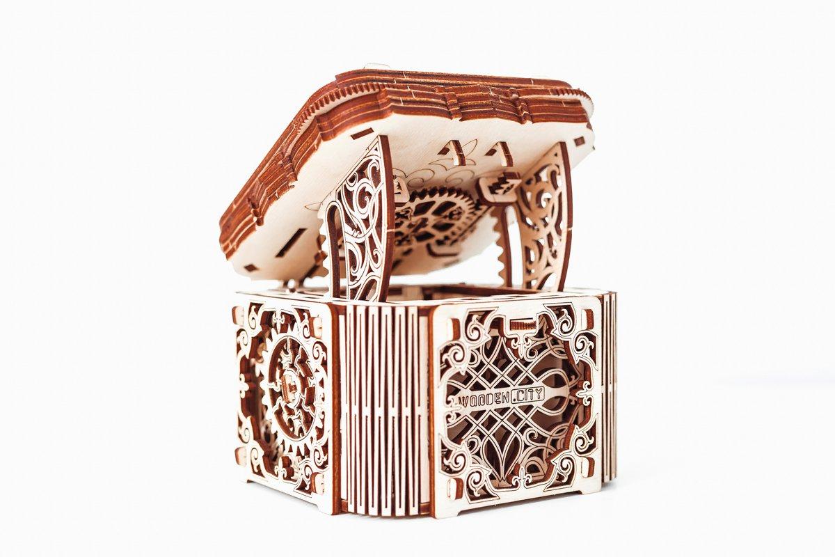 Wooden City Mystery Box - Houten Modelbouw kopen