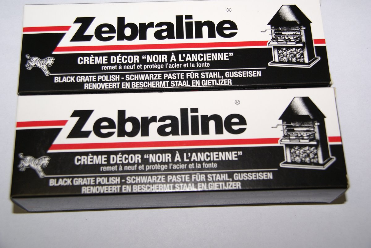 Zebraline kachelpoets - Zwart - 100ml - 2 tubes kopen
