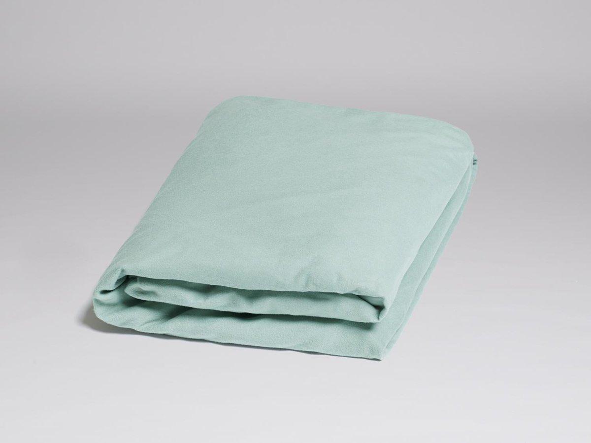 2a929b41d98 Yumeko Hoeslaken velvet flanel groen 90x200x30