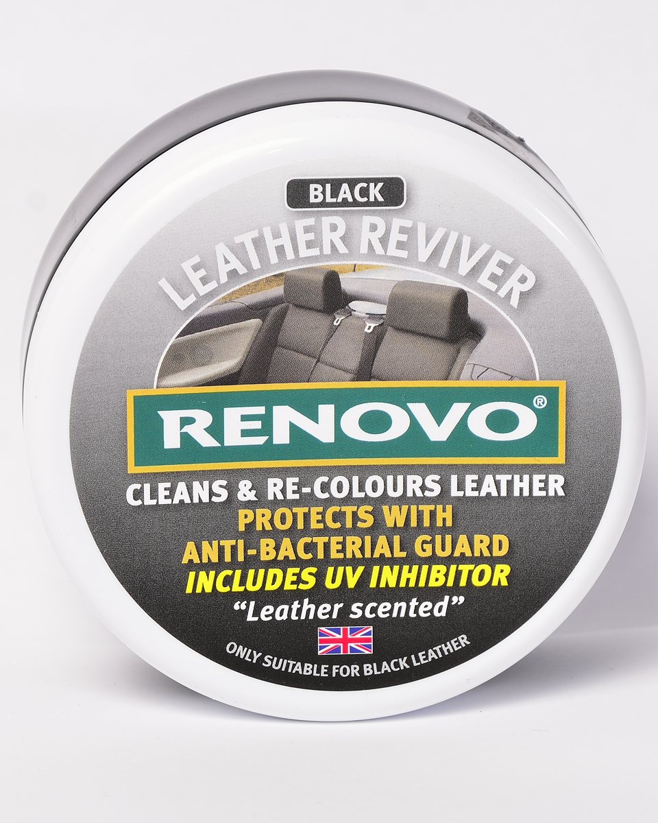 Leather Reviver Zwart - Renovo Leerverzorging 200ml kopen
