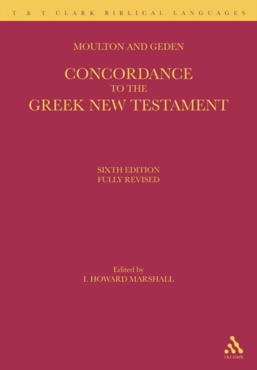 A Concordance to the Greek ...