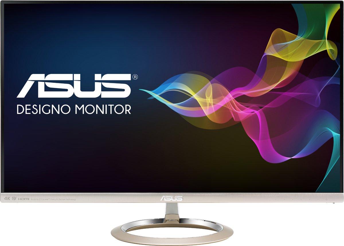 ASUS Designo MX27UC LED display 68,6 cm (27'') 4K Ultra HD Flat Zwart, Goud kopen