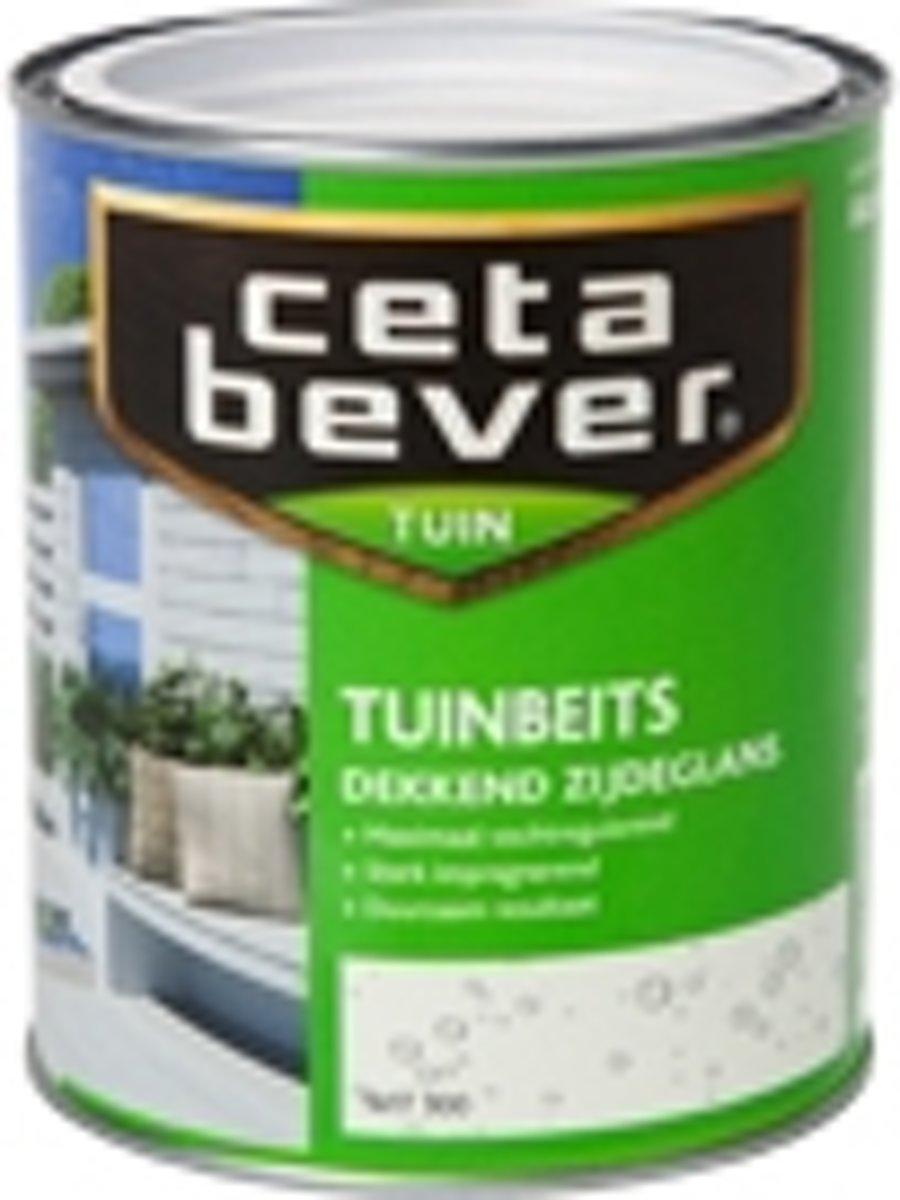Cetabever Dekkende Tuinbeits - 0,75 liter - Ivoorwit