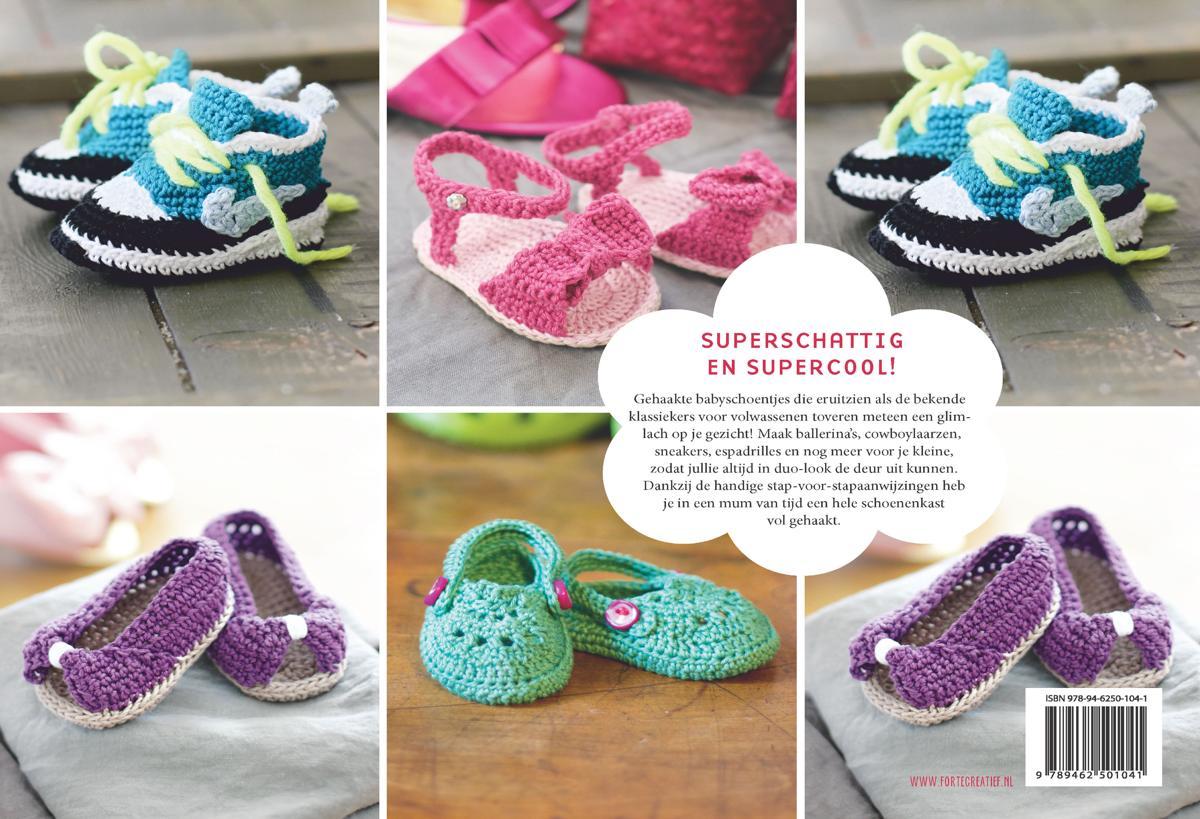 Bolcom Babyschoentjes Haken Lucia Forthmann 9789462501041 Boeken