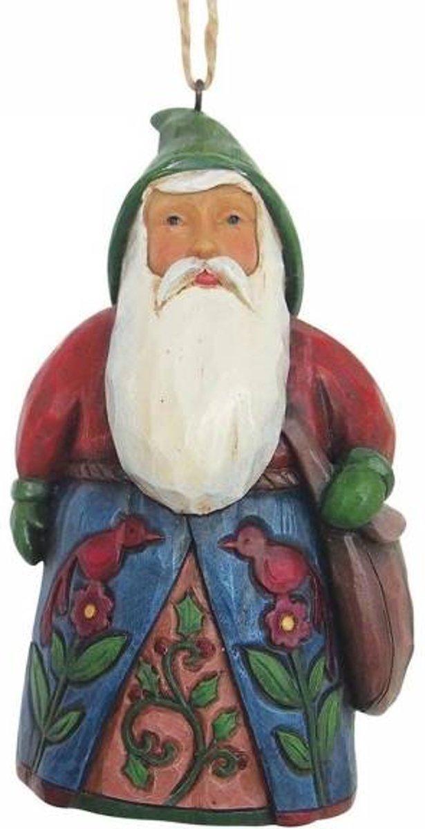 Jim Shore: Folklore kerstman  ( Hangende ornament) Beelden & Figuren kopen