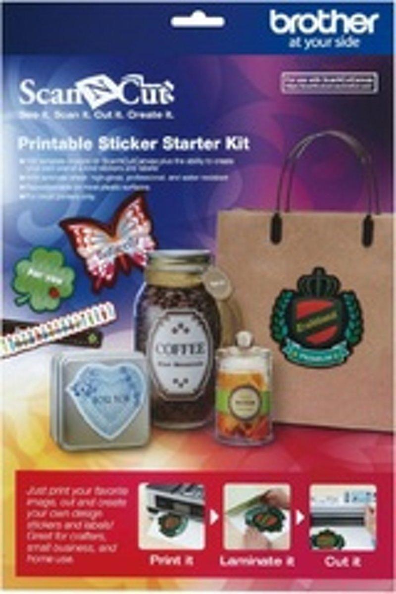 ScanNCut Startpakket Printbare Stickers