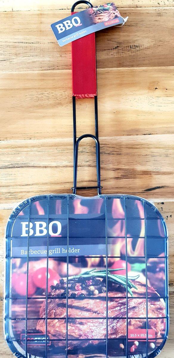 Barbecue grill houder Barbecue - BBQ  Vlees -Visgrill voor  3stuks kopen