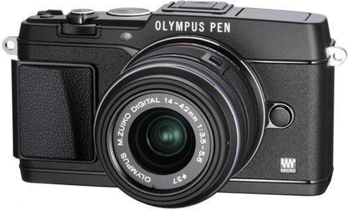Olympus PEN E-P5 + 14-42mm - Systeemcamera - Zwart
