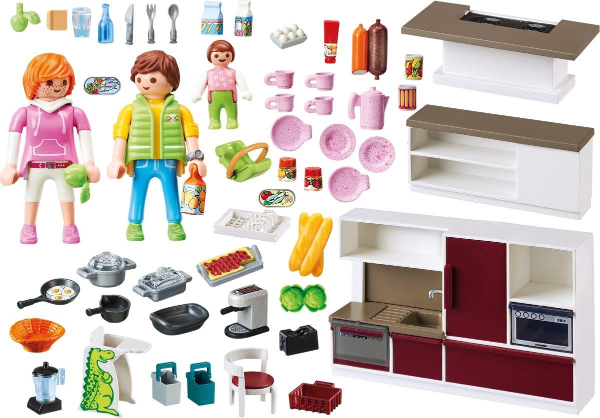 Playmobil Keuken 9269 : Bol playmobil leefkeuken playmobil speelgoed