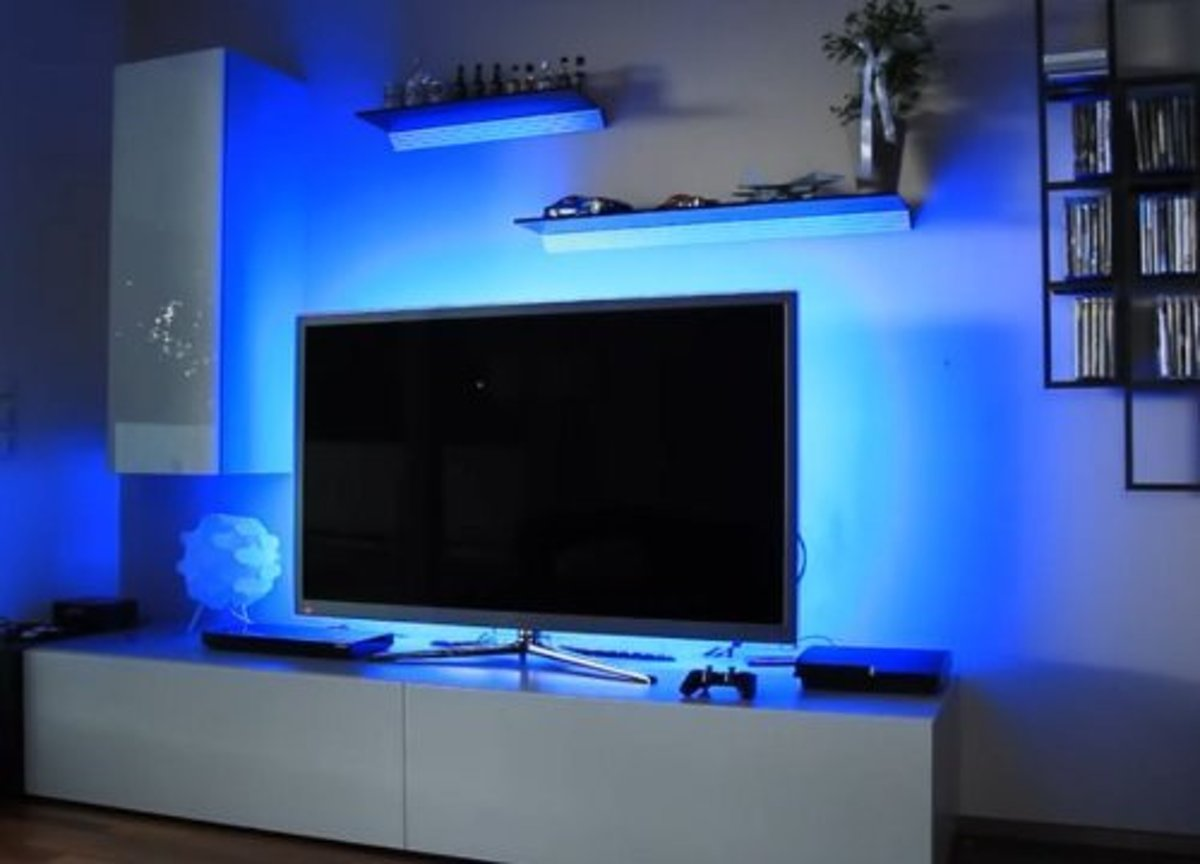 bol.com | Backlight led strip TV - met USB control - TV decoratie ...