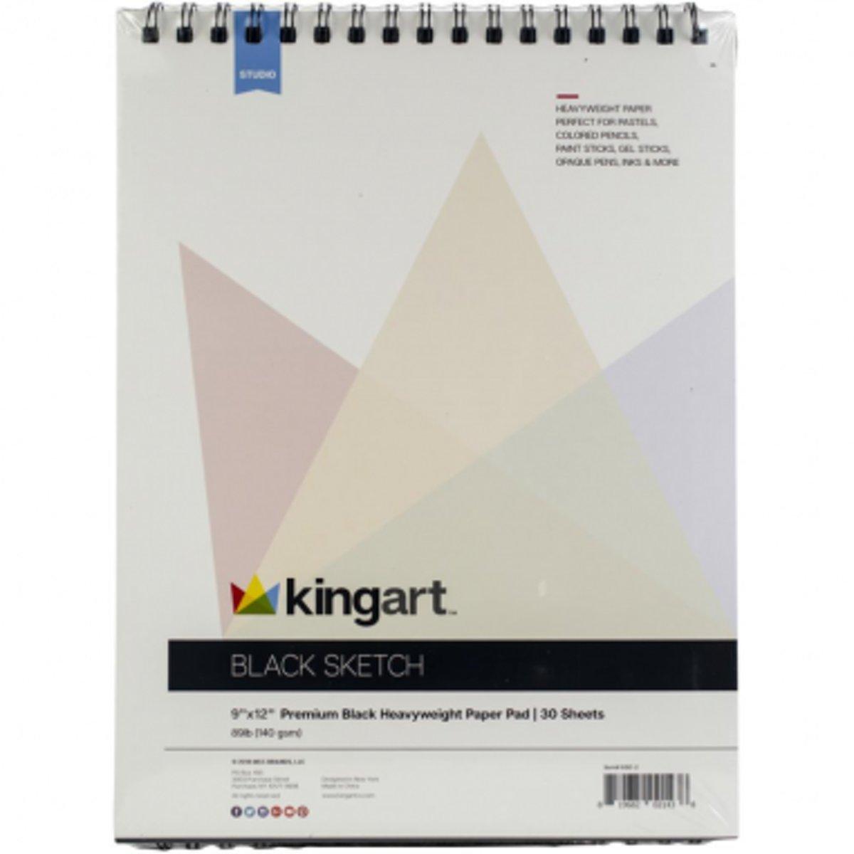 KingArt Schetsblok Zwart kopen