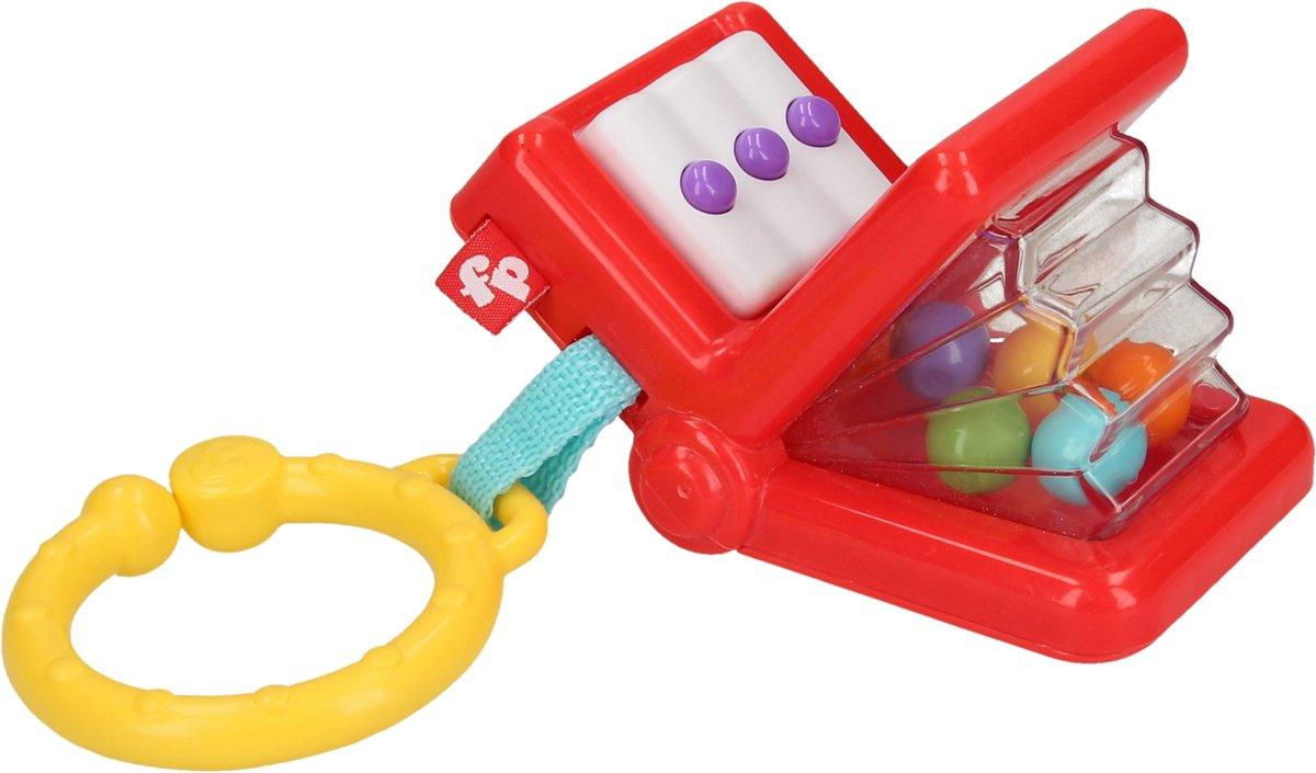 Accordeon Rammelaar voor Baby?s vanaf 0 jaar ? 13x6x6cm | Speelgoed voor Kindjes | Voor Pasgeboren Baby?s