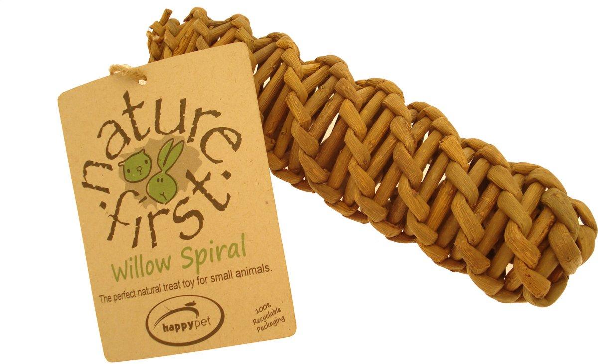 Happy Pet Spiraal Willow - Knaagspeeltje - 19 x 4.5 x 4.5 cm