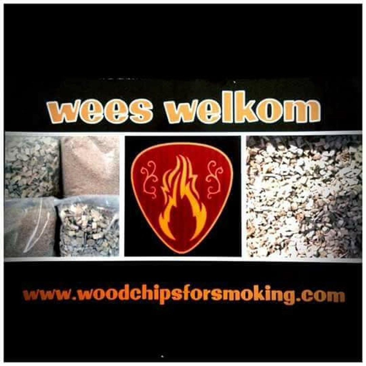 hickoryhout zaagsel voor bbq, smoker en rookoven 20 liter kopen