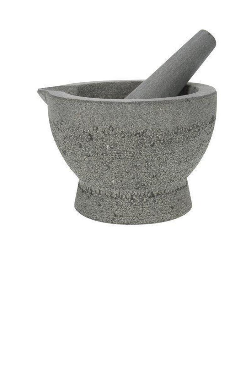 Cosy&Trendy Vijzel met stamper met schenktuit graniet - Ø 14,5 cm kopen