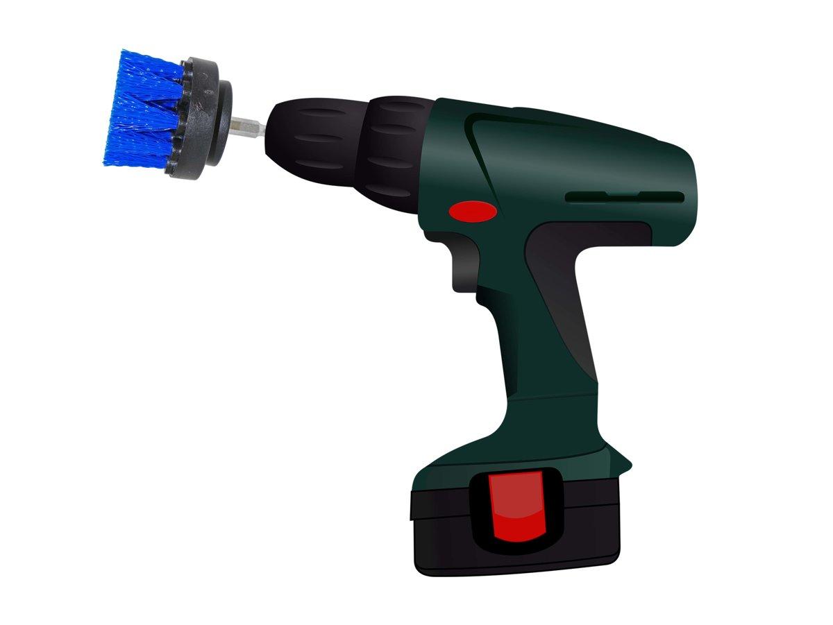 Cleanbro - Schoonmaak borstel - Reinigingsborstel - Boormachine Borstel - Poetsen - Schoonmaken kopen