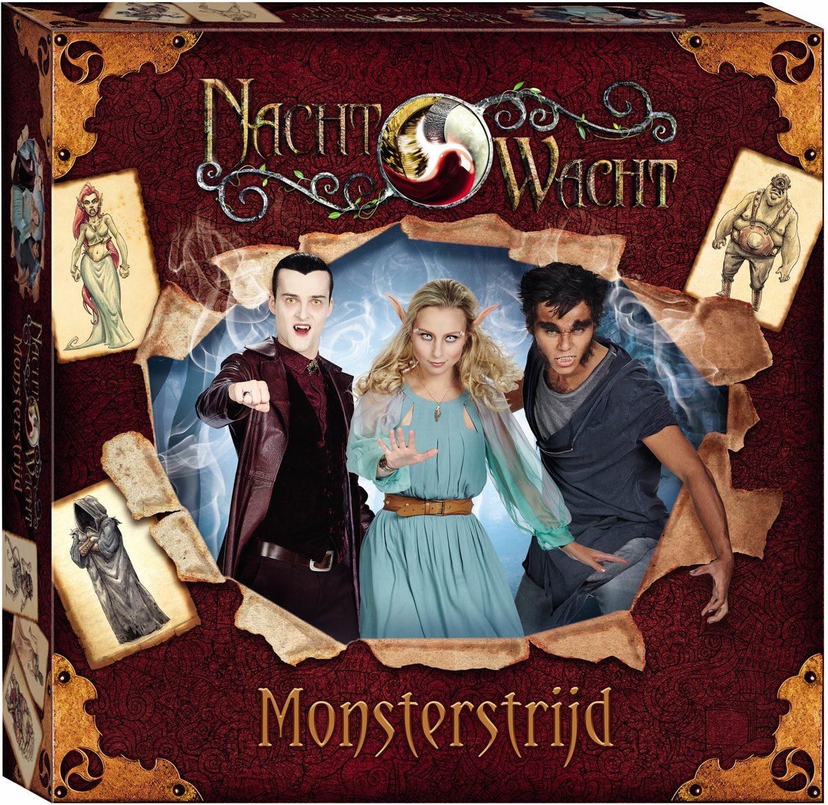 Studio 100 Nachtwacht spel Monsterstrijd - Bordspel