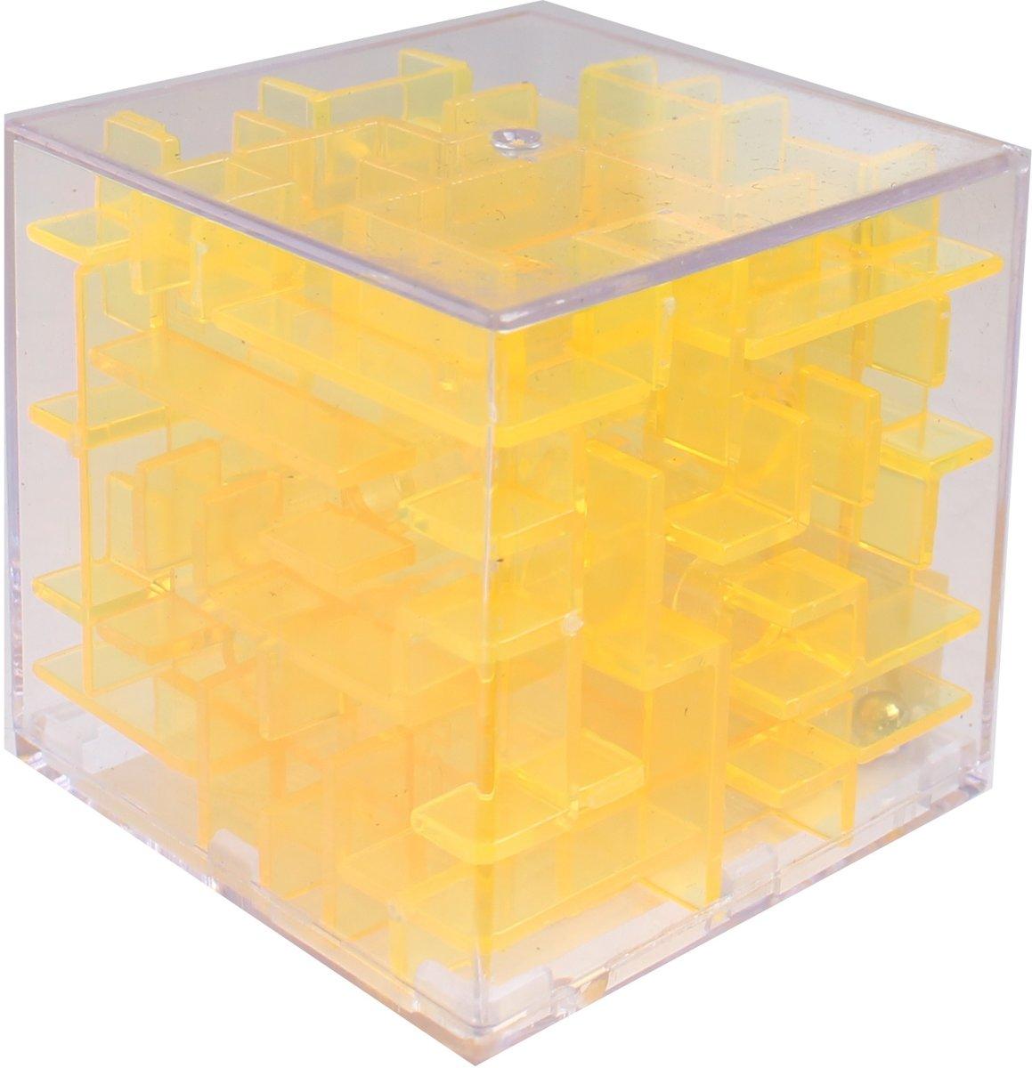 Tutti Frutti Mini-doolhof Transparant Geel 4 X 4 X 4 Cm kopen