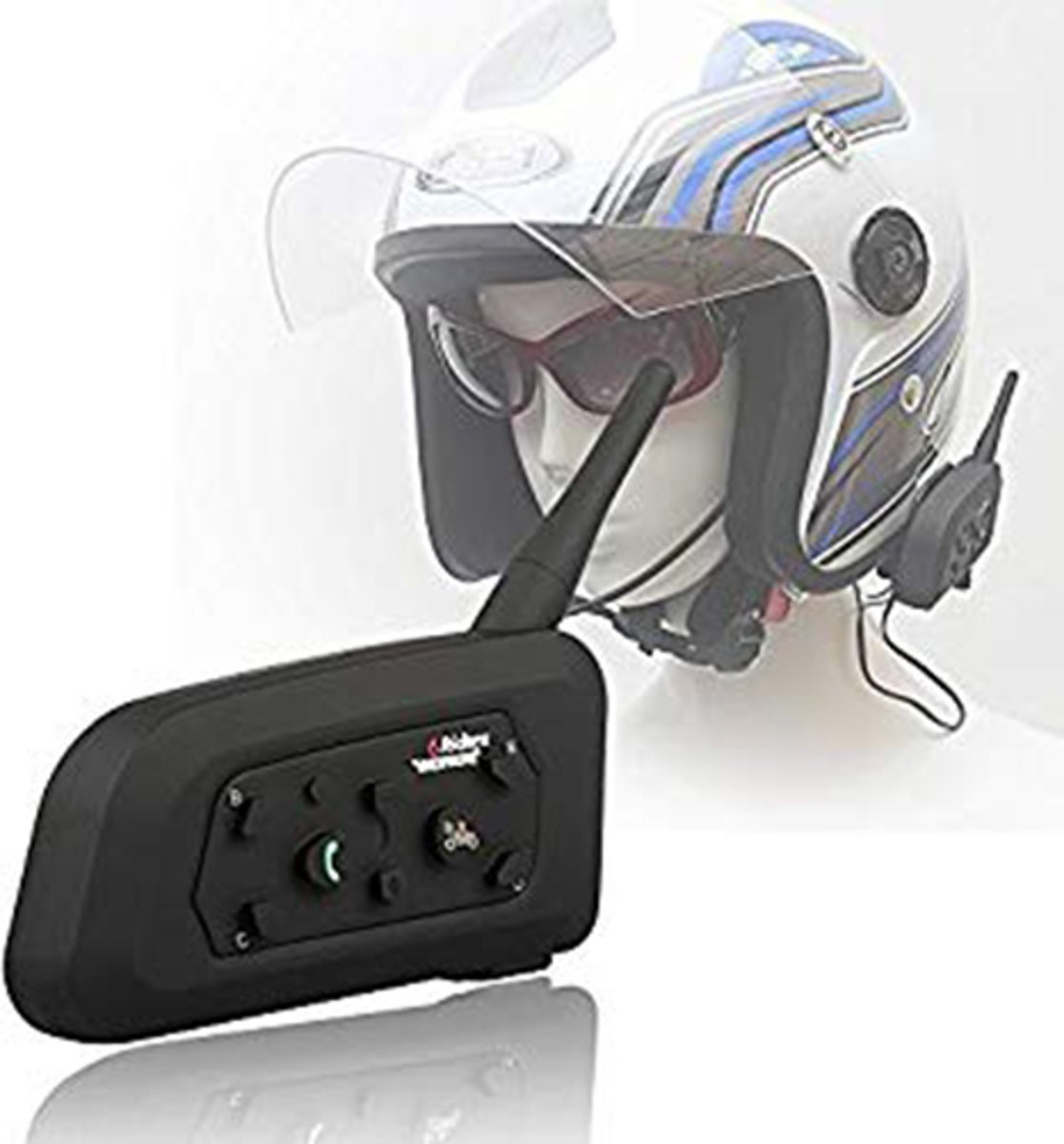 1 modules v6 motor intercom bluetooth headset interphone communicatie systeem voor 1 persoon kopen