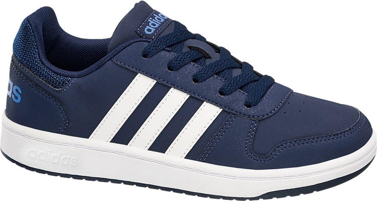 sports shoes 7fe22 daa48 bol.com  adidas Kinderen Blauwe VS Hoops 2.0 - Maat 40