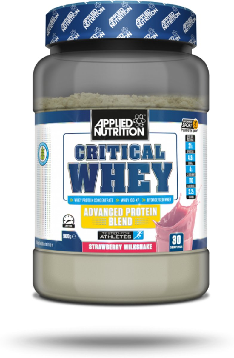 Foto van Applied Nutrition CRITICAL WHEY - Strawberry