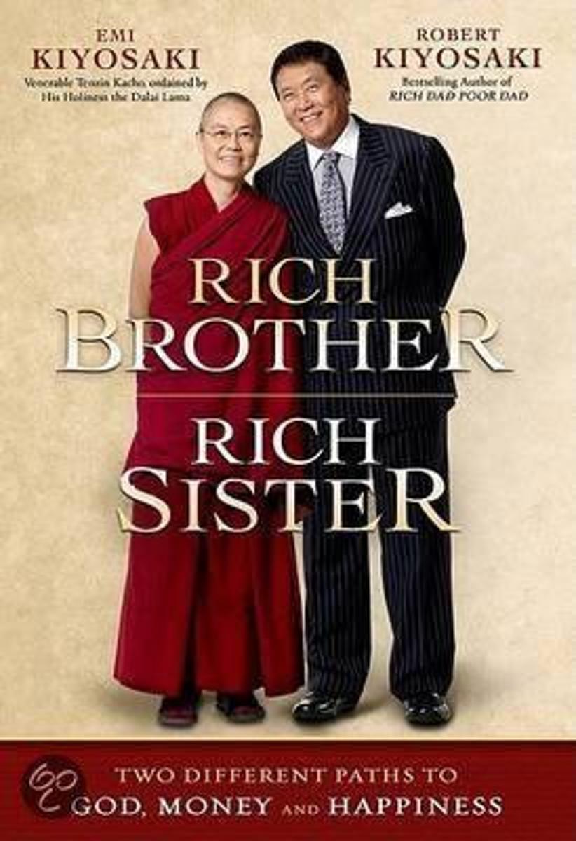Bolcom Rich Brother Rich Sister Robert Kiyosaki 9781593154936