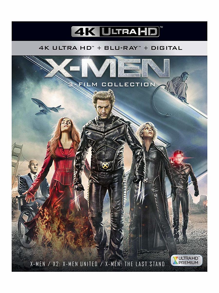 X-Men 3 Film Collection (4K UHD + blu-ray) (Import)-