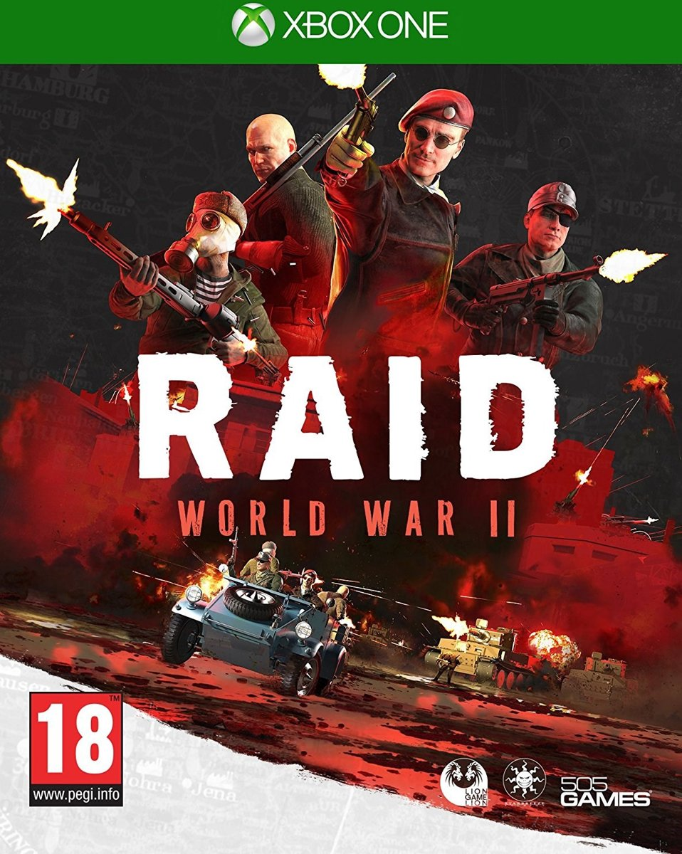 Raid World War 2 Xbox One