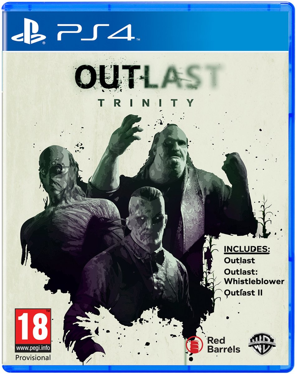 Outlast Trinity PlayStation 4