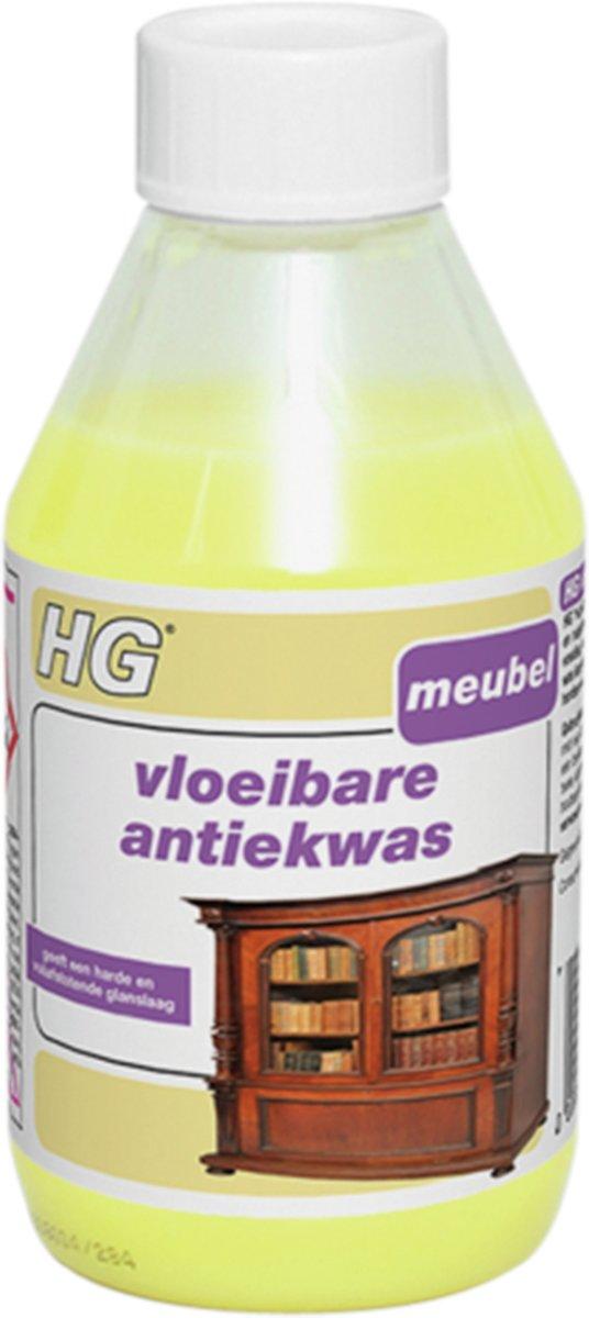 HG Vloeibare Antiekwas - Onderhoud Hout - Geel - 300 ml kopen