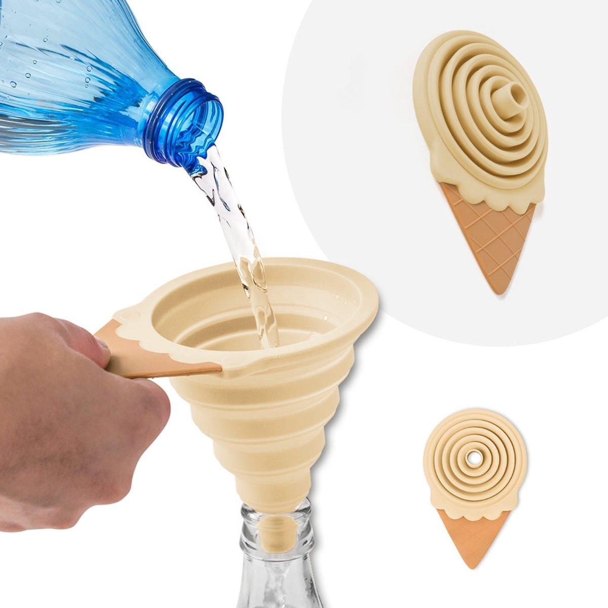 Balvi Trechter Gelato magnetic vanilla kopen