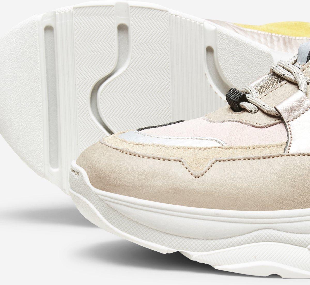 12e841330a6 bol.com | Selected Femme Chunky Dames Sneakers - Heav.Pink - Maat 38