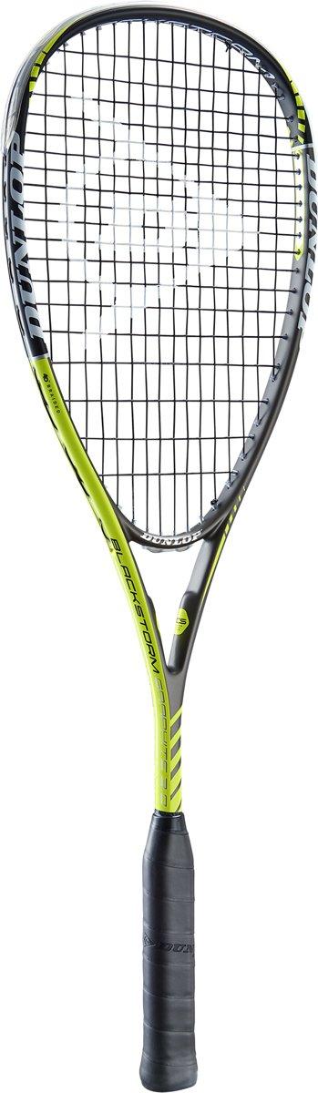 Dunlop BLACKSTORM GRAPHITE 3.0 - Zwart/geel -Squashracket