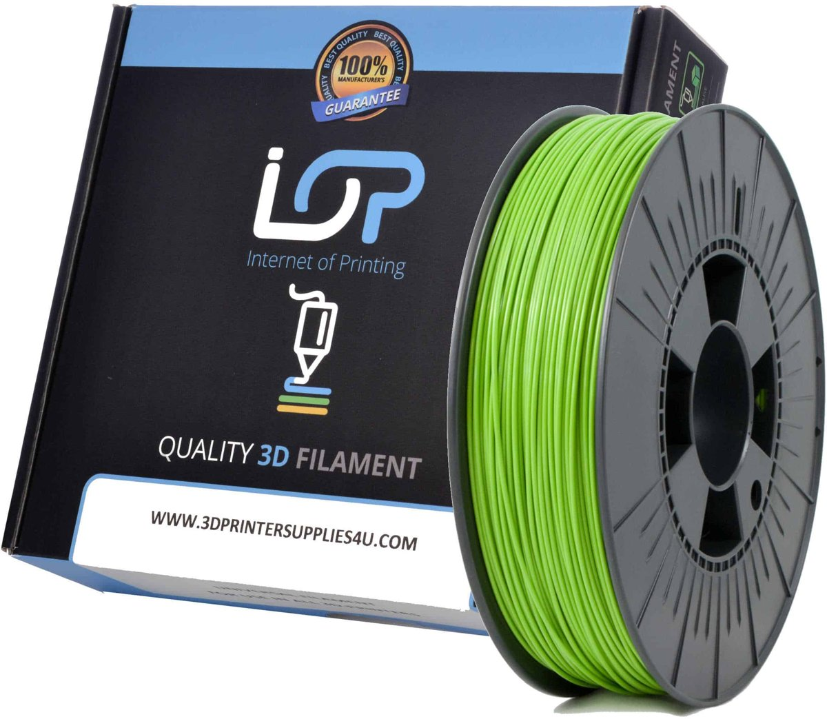 IOP PLA 1,75mm Apple Green 1kg