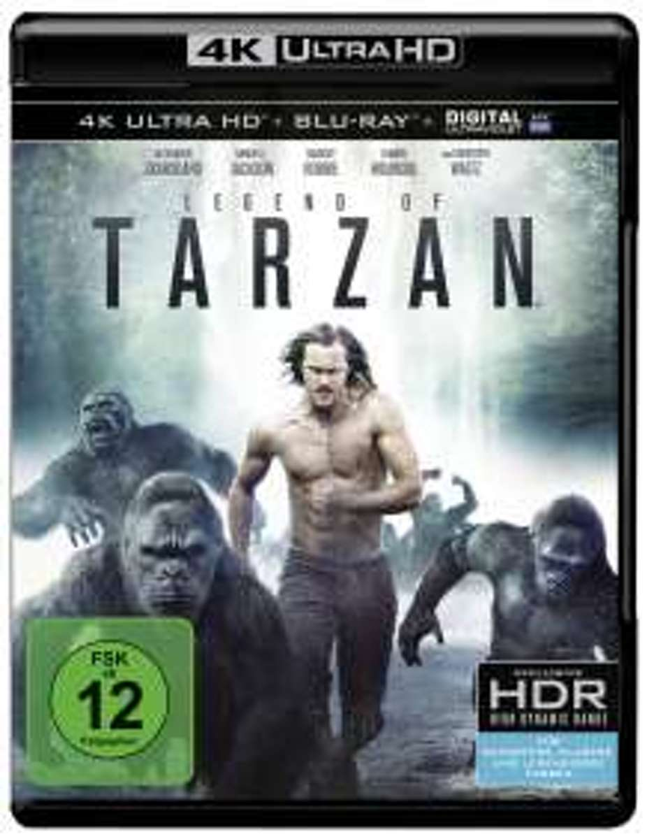 Legend of Tarzan (Ultra HD 4K Blu-ray (Import)-