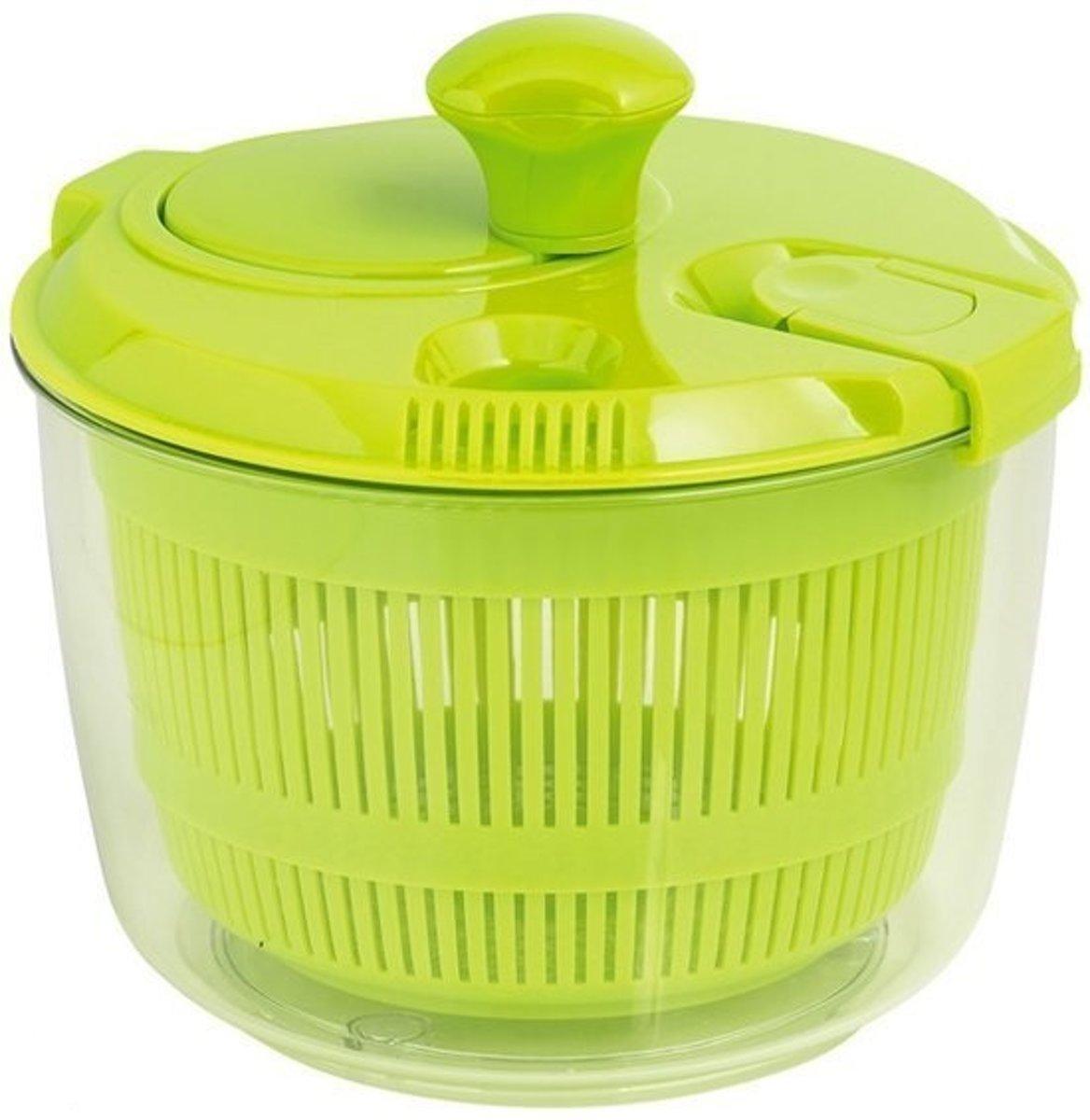 Mastrad Slacentrifuge - Klein - 2.7 l - 20 cm - Groen kopen