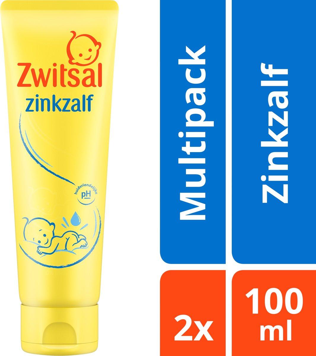 Zwitsal Baby Zinkzalf - 2 x 100 ml - Voordeelverpakking kopen
