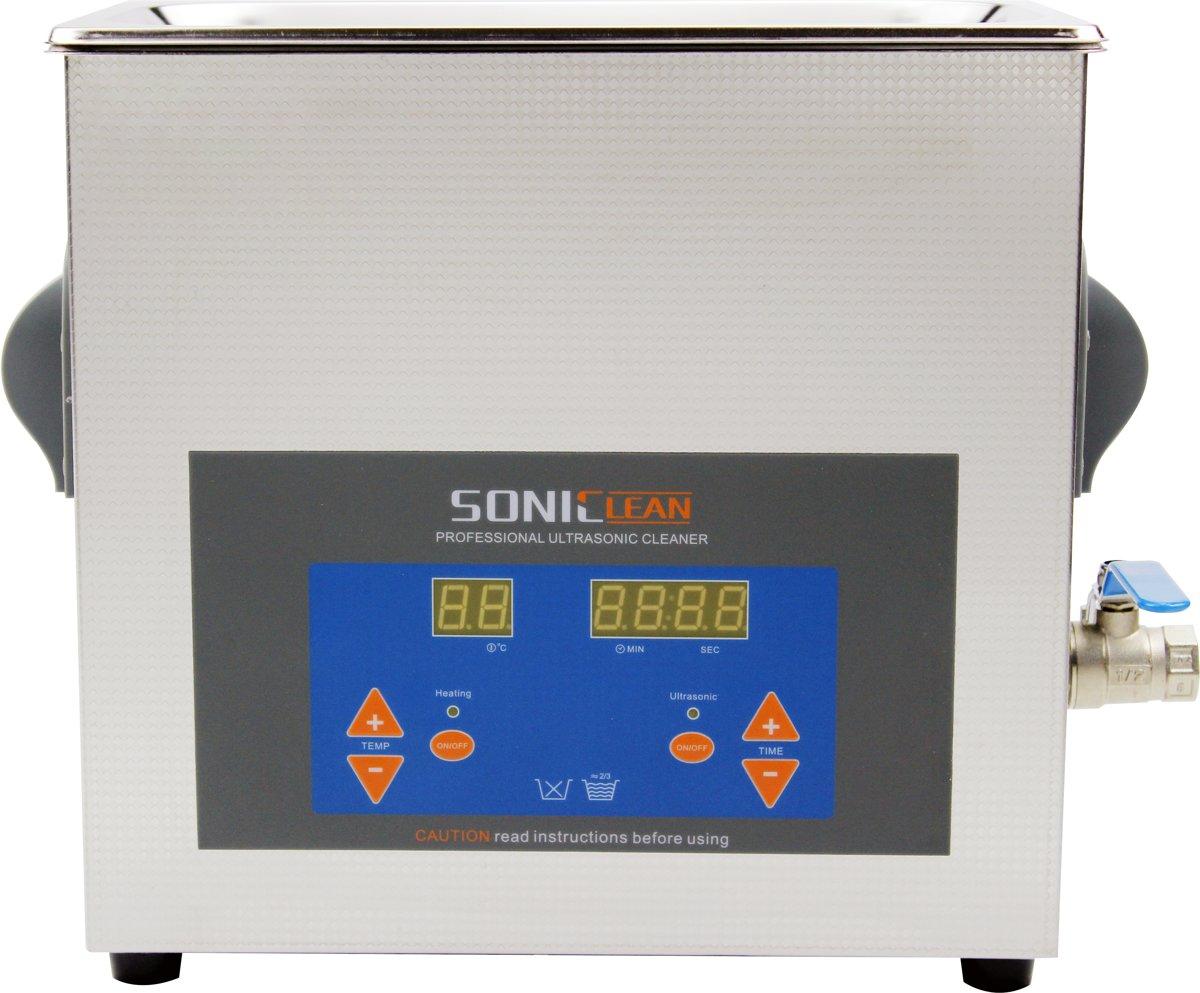 SonicClean digitale ultrasoon reiniger ultrasone reiniger 6L kopen