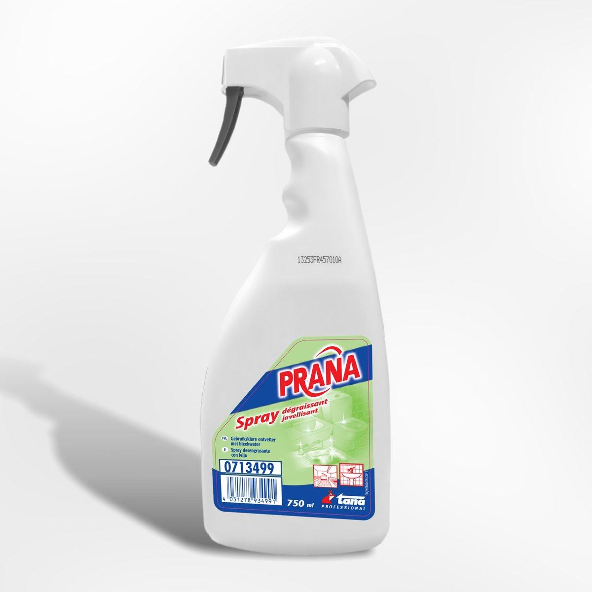Prana - Gebruiksklare sanitaire ontvetter met javel - 750 ml kopen