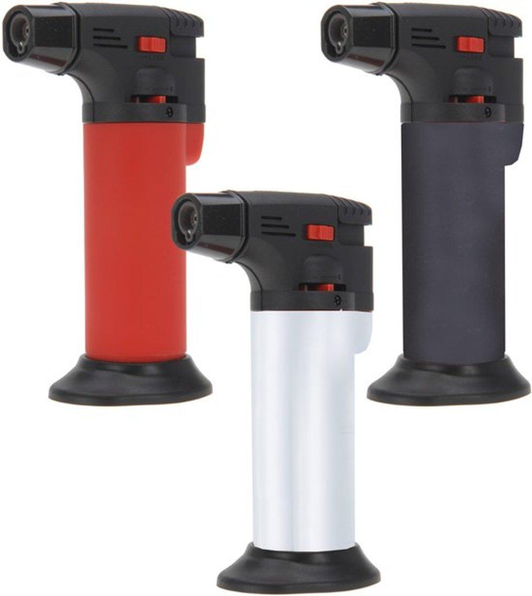 Creme Brulee Aansteker|Gasbrander ( is er in blauw, groen, oranje en zwart) kopen