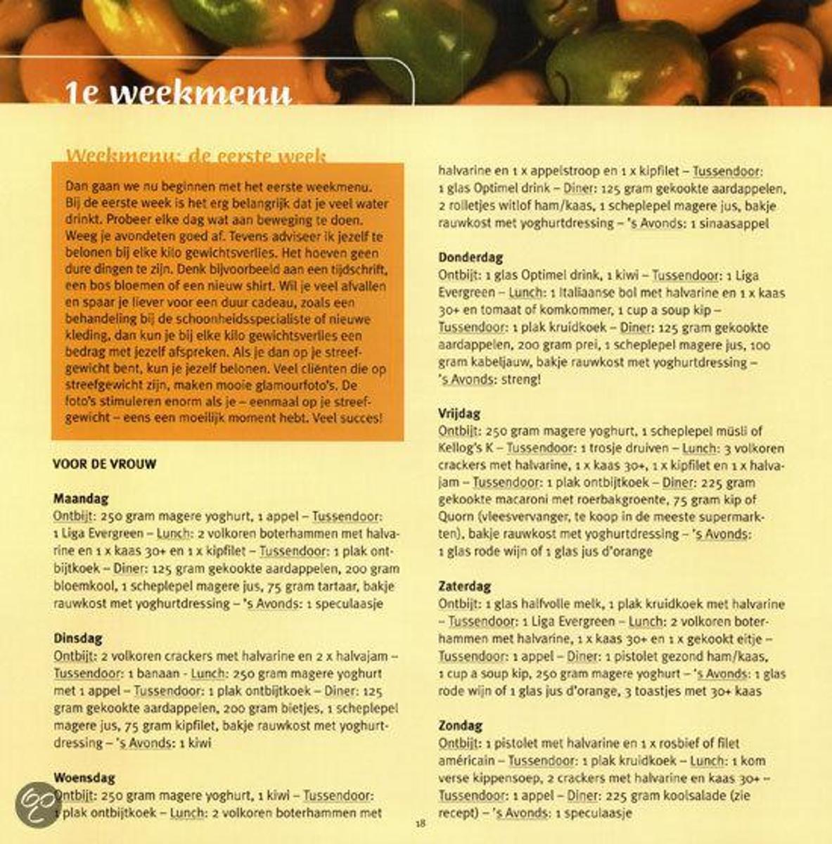 magere recepten sonja bakker
