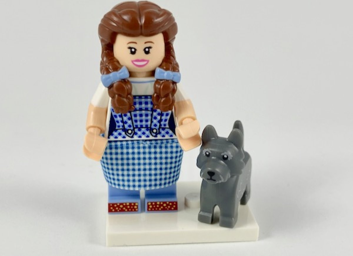 LEGO Minifiguur The LEGO Movie 2 Dorothy Gale & Toto coltlm2-16