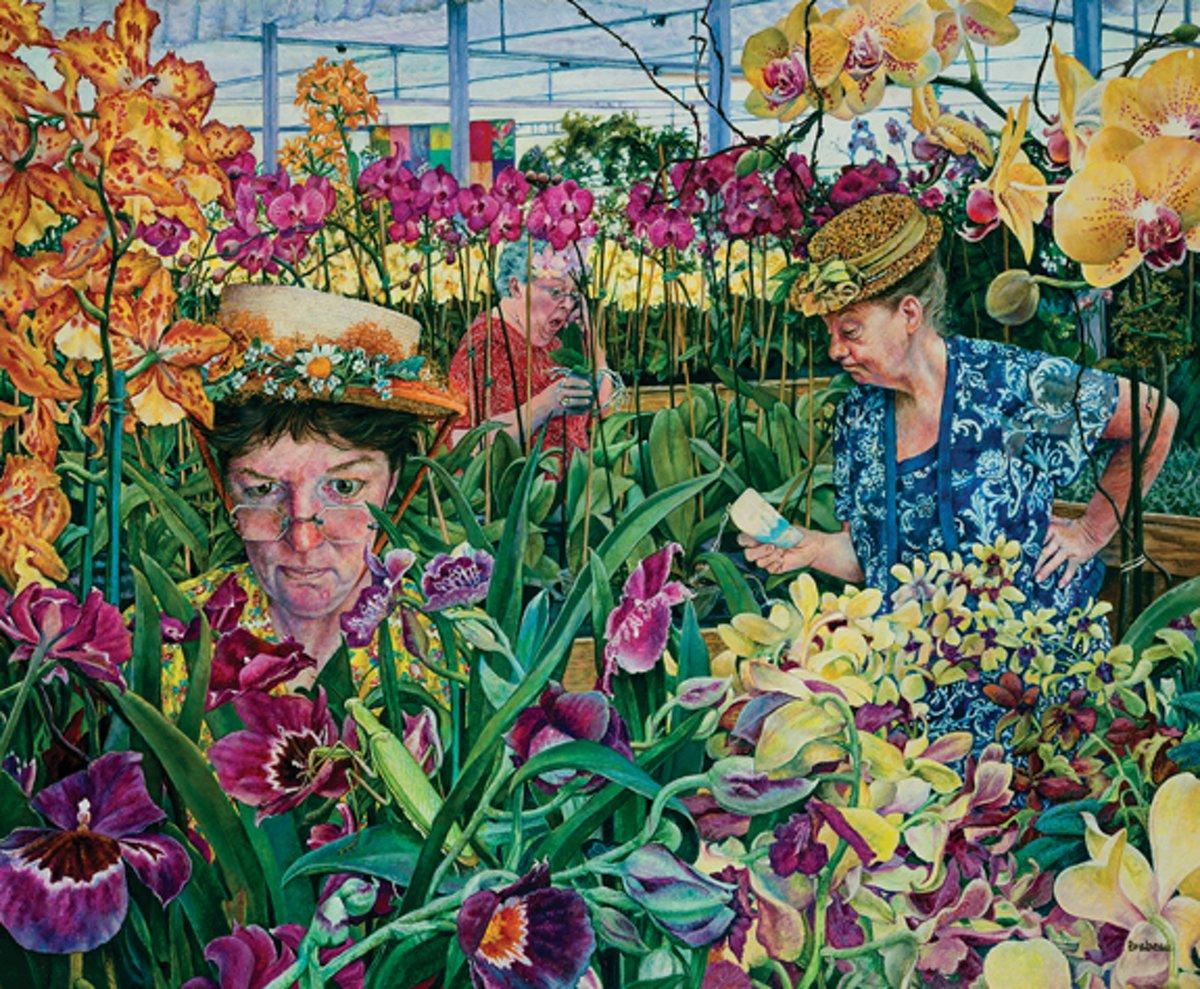 SunsOut legpuzzel Susan Brabeau's Orchids with Mantis 1000 stukjes kopen