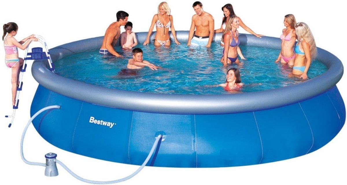 Bestway Fast Set Pool Zwembad - 549 x 107 cm